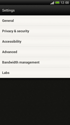 HTC One S - Internet and data roaming - Manual configuration - Step 19