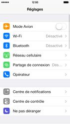 Apple iPhone 5s - Internet et connexion - Partager votre connexion en Wi-Fi - Étape 3