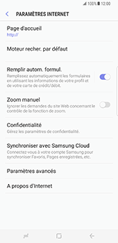 Samsung Galaxy S8 Plus - Internet et roaming de données - Configuration manuelle - Étape 29