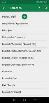 Huawei P20 - Android Pie - Startanleitung - So fügen Sie eine Tastatursprache hinzu - Schritt 9