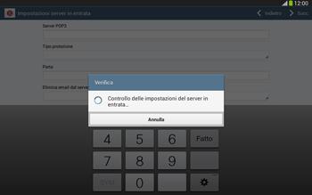 Samsung Galaxy Tab 3 10-1 LTE - E-mail - configurazione manuale - Fase 11