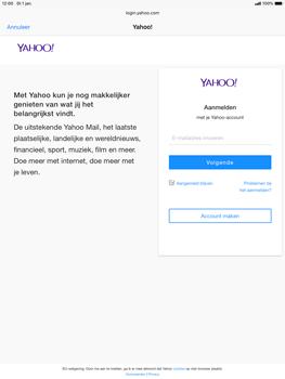 Apple iPad Air (2019) - iPadOS 13 - E-mail - e-mail instellen (yahoo) - Stap 6