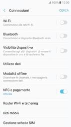 Samsung Galaxy A5 (2017) - Internet e roaming dati - Come verificare se la connessione dati è abilitata - Fase 5