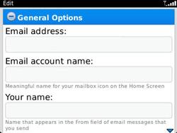 BlackBerry 9320 Curve - E-mail - Manual configuration - Step 13