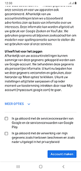 Samsung Galaxy A10 - apps - account instellen - stap 16