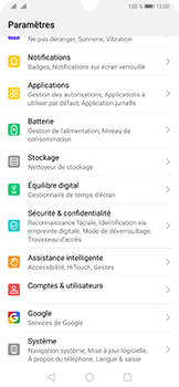 Huawei P30 Pro - Prise en main - Comment ajouter une langue de clavier - Étape 3
