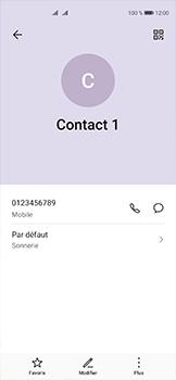 Huawei P40 - Contact, Appels, SMS/MMS - Ajouter un contact - Étape 8