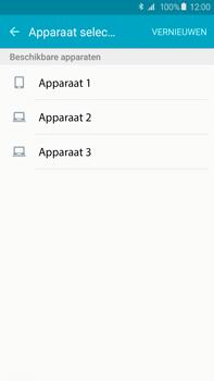 Samsung G928F Galaxy S6 edge plus - Contactgegevens overzetten - delen via Bluetooth - Stap 9