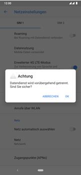 Nokia 7.2 - Netzwerk - Manuelle Netzwerkwahl - Schritt 9
