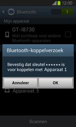Samsung I8730 Galaxy Express - Bluetooth - Headset, carkit verbinding - Stap 7