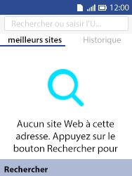 Alcatel 3088X - Internet et connexion - Naviguer sur internet - Étape 4