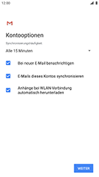 Nokia 8 - Android Pie - E-Mail - 032c. Email wizard - Outlook - Schritt 10