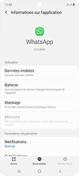 Samsung Galaxy A51 - Applications - Comment désinstaller une application - Étape 6