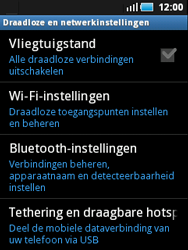 Samsung S5570 Galaxy Mini - wifi - handmatig instellen - stap 5