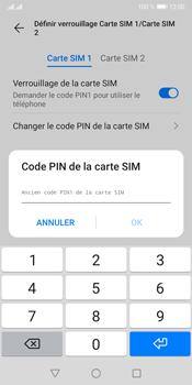 Huawei Y5P - Sécuriser votre mobile - Personnaliser le code PIN de votre carte SIM - Étape 9