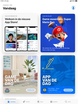 Apple ipad-air-10-5-inch-2019-model-a2123 - Applicaties - Account aanmaken - Stap 4