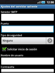 Samsung S5570 Galaxy Mini - E-mail - Configurar correo electrónico - Paso 9