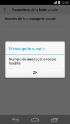 Huawei Ascend P7 - Messagerie vocale - configuration manuelle - Étape 10