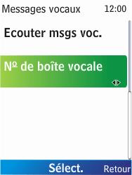 Nokia X2-00 - Messagerie vocale - Configuration manuelle - Étape 6