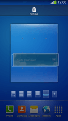 Samsung SM-G3815 Galaxy Express 2 - Getting started - Installing widgets and applications on your start screen - Step 10