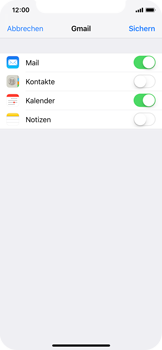 Apple iPhone XS - E-Mail - 032a. Email wizard - Gmail - Schritt 8