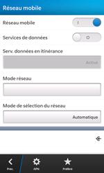 BlackBerry Z10 - Internet et connexion - Désactiver la connexion Internet - Étape 7