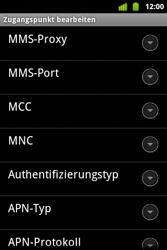 Alcatel OT-983 - MMS - Manuelle Konfiguration - Schritt 11