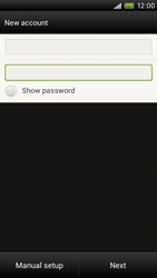 HTC S720e One X - Email - Manual configuration POP3 with SMTP verification - Step 7
