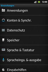Sony Xperia Go - Fehlerbehebung - Handy zurücksetzen - 6 / 10