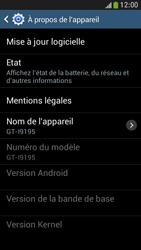 Samsung Galaxy S 4 Mini LTE - Logiciels - Installation de mises à jour - Étape 7