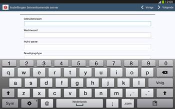 Samsung P5220 Galaxy Tab 3 10-1 LTE - E-mail - e-mail instellen: POP3 - Stap 8
