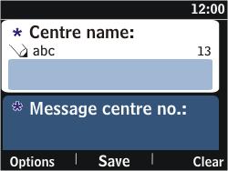 Nokia Asha 302 - SMS - Manual configuration - Step 8