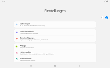 Samsung Galaxy Tab S7 - Internet und Datenroaming - Deaktivieren von Datenroaming - Schritt 4