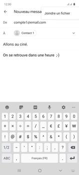 Samsung Galaxy Note 10 Lite - E-mails - Envoyer un e-mail - Étape 11
