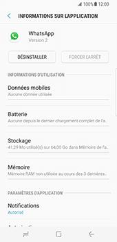 Samsung Galaxy S8 - Applications - Comment désinstaller une application - Étape 6
