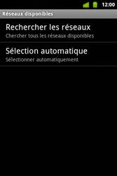 Alcatel OT-983 - Réseau - Sélection manuelle du réseau - Étape 9
