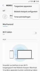 Samsung galaxy-s7-android-oreo - WiFi - Mobiele hotspot instellen - Stap 8