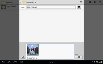 Samsung N8000 Galaxy Note 10-1 - MMS - hoe te versturen - Stap 13