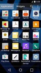 LG K4 - Internet et connexion - Accéder au réseau Wi-Fi - Étape 3
