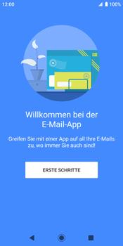 Sony Xperia XZ2 - Android Pie - E-Mail - Konto einrichten - Schritt 4