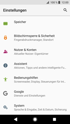 Sony Xperia XZ - Fehlerbehebung - Handy zurücksetzen - 6 / 12