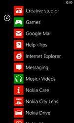 Nokia Lumia 920 LTE - Internet - Internet browsing - Step 2
