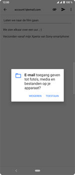 Sony xperia-10-plus-I4123 - E-mail - Bericht met attachment versturen - Stap 11