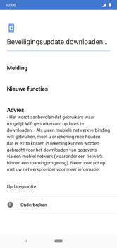 Nokia 7.1 - Android Pie - software - update installeren zonder pc - stap 9