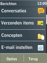 Nokia X3-02 - e-mail - hoe te versturen - stap 4