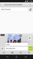 Sony Xperia Z - MMS - Erstellen und senden - 18 / 20