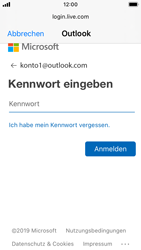 Apple iPhone SE - iOS 13 - E-Mail - Konto einrichten (outlook) - Schritt 7