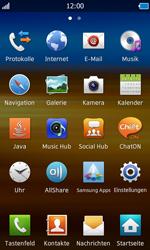 Samsung Wave - MMS - Manuelle Konfiguration - 4 / 21