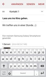 Samsung J120 Galaxy J1 (2016) - E-Mail - E-Mail versenden - Schritt 18