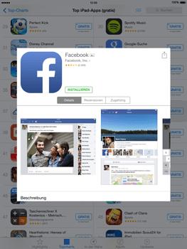 Apple iPad Air iOS 8 - Apps - Einrichten des App Stores - Schritt 7
